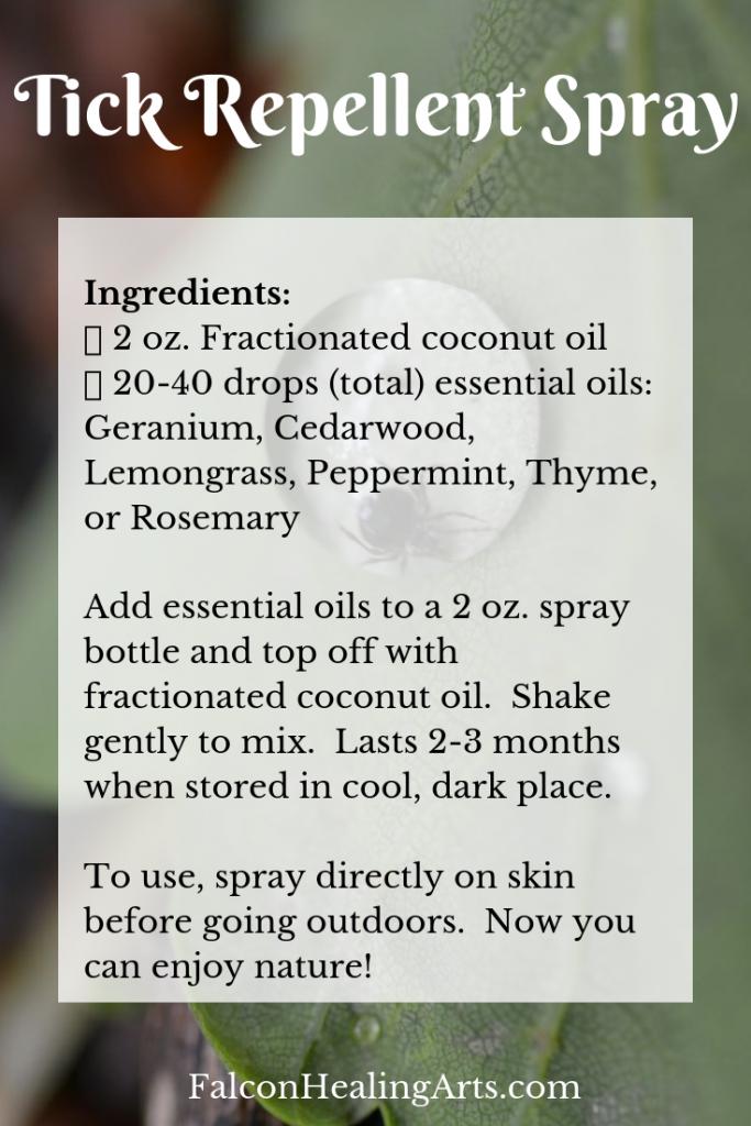 tick repellent spray
