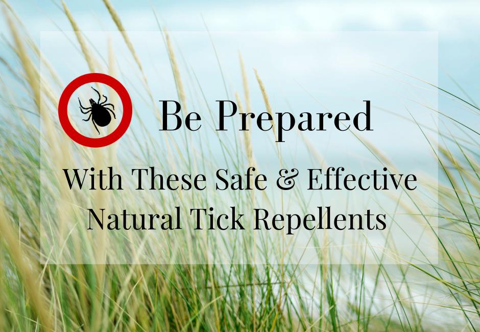 natural tick repellent