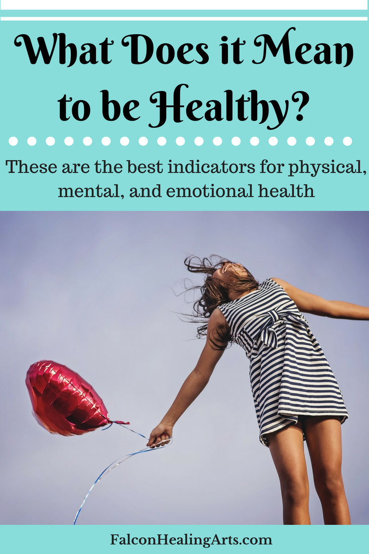 what does it mean to be healthy? Pinterest