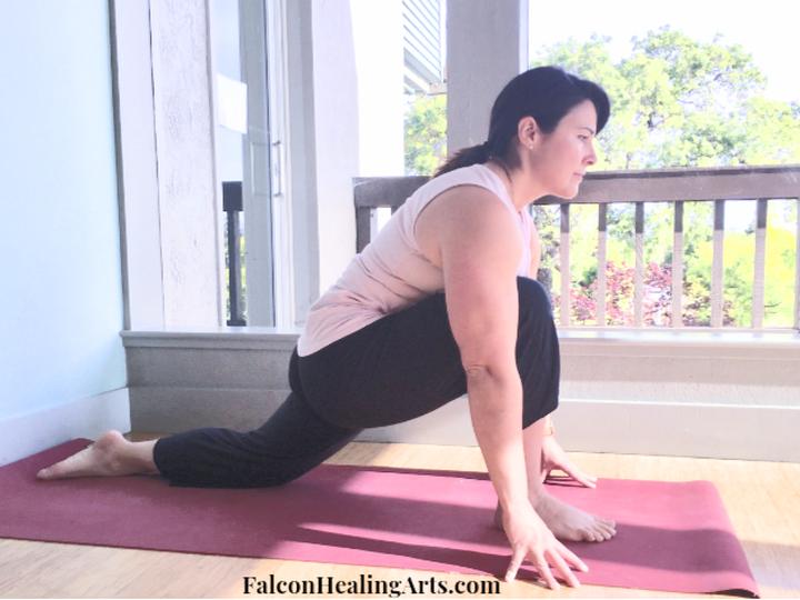 lunge pose yoga asana