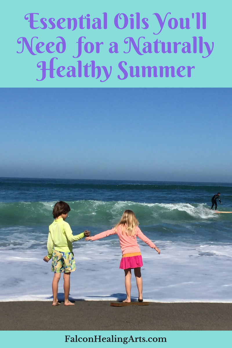 essential oils for healthy summer kids