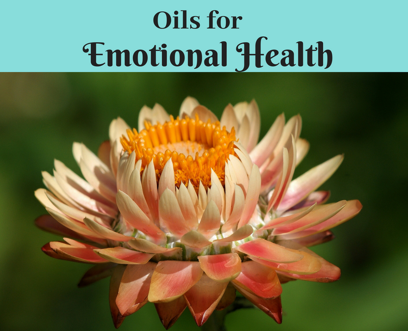 essential oils for emotional health