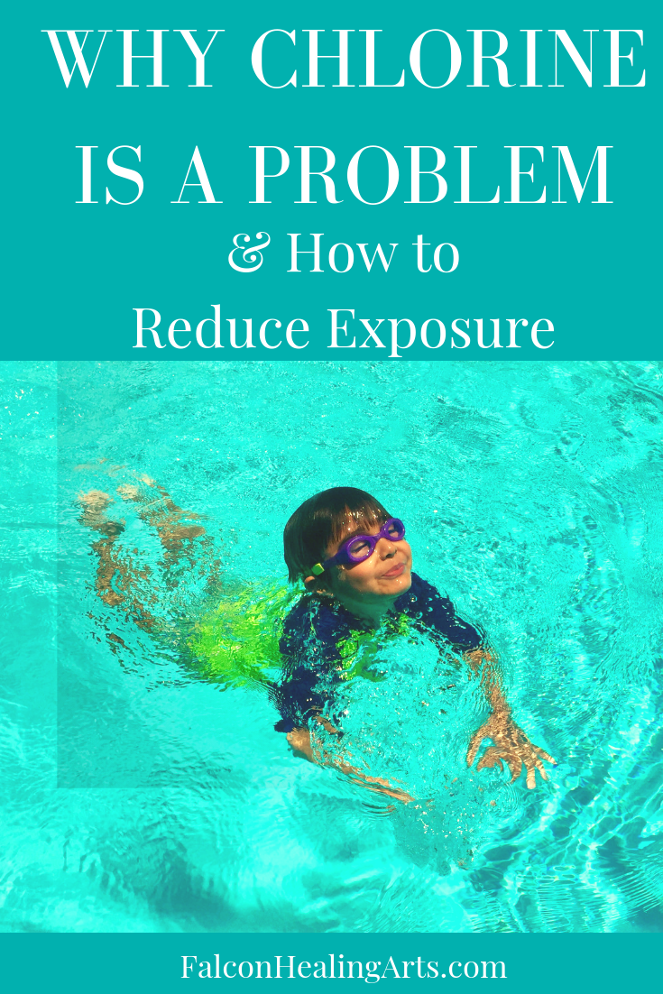 reduce exposure to chlorine