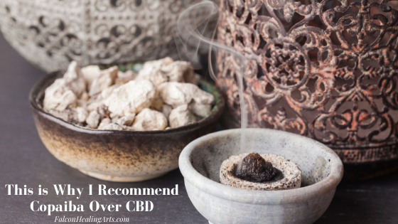 Copaiba essential oil vs. CBD