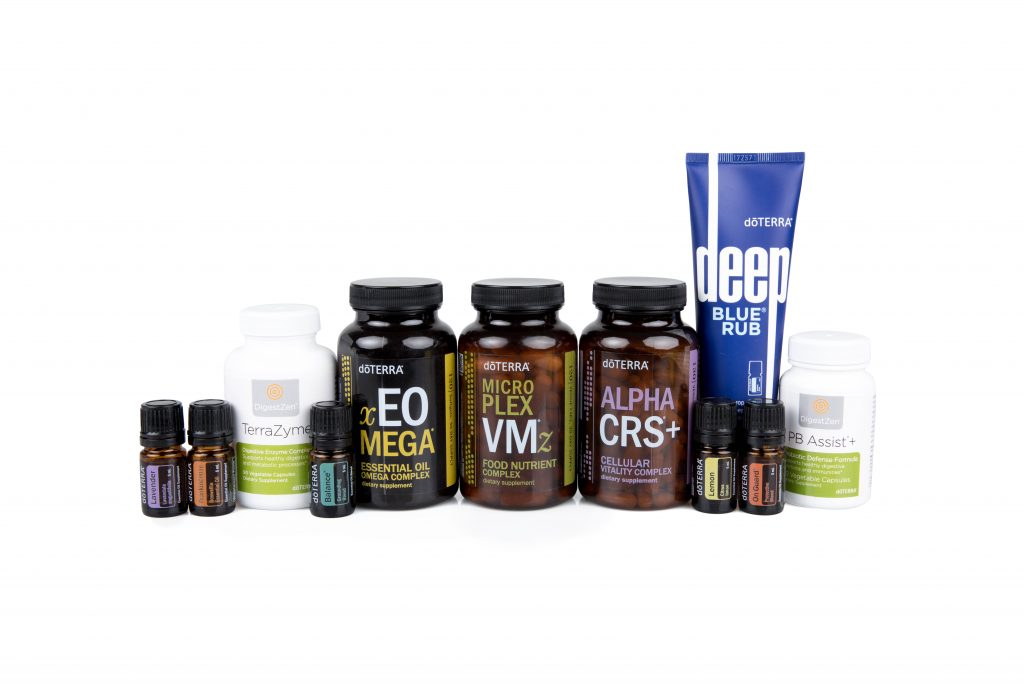 doTERRA Healthy Habits supplement kit for holistic health