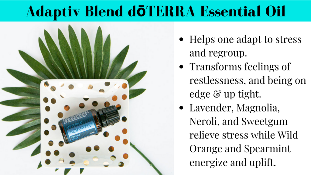 Adaptiv blend essential oil