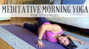 meditative yoga for stiffness