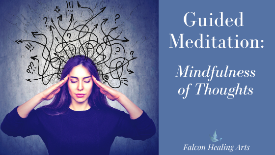 guided meditation mindfulness of thoughts