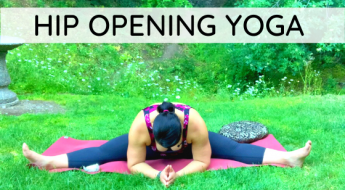 hip opening yoga video