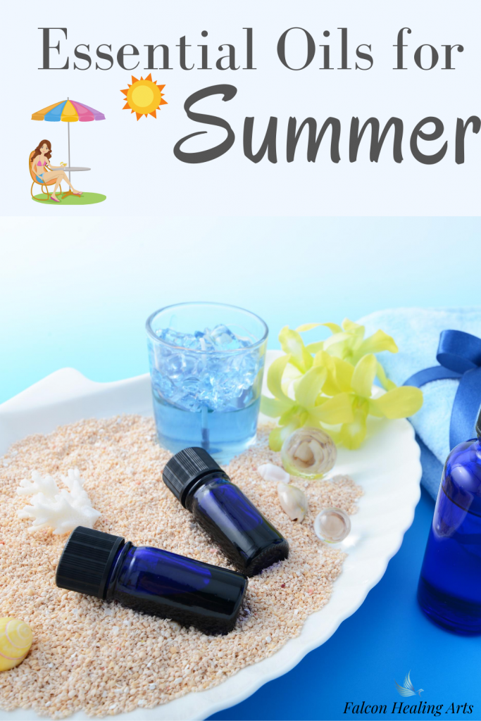 Summer home remedies using essential oils