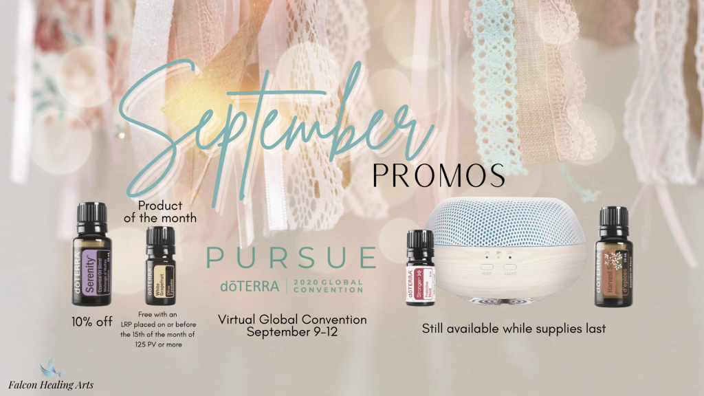 doterra essential oils September promotions