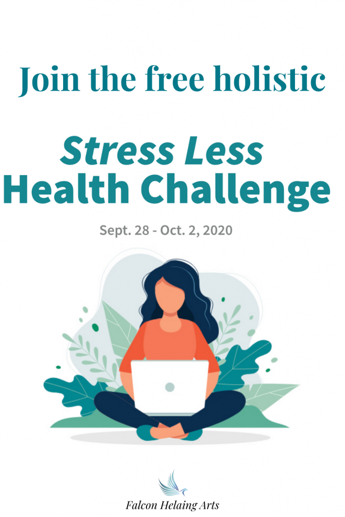 Join the free stress less holistic health challenge Sept. 28 - Oct. 2