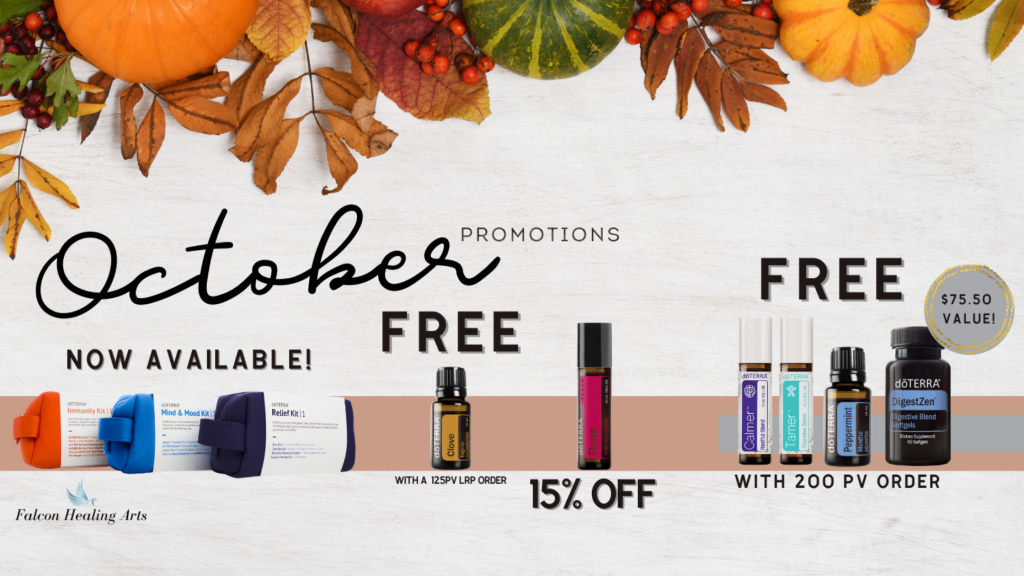 october doterra promotions